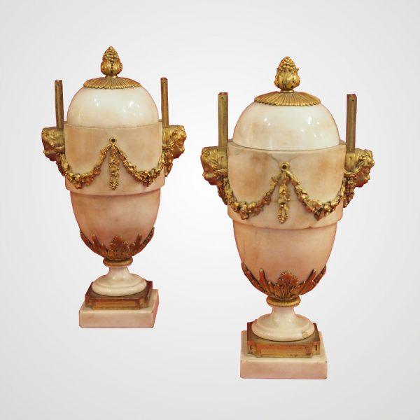 paire-cassolettes-louisxvi-marbre