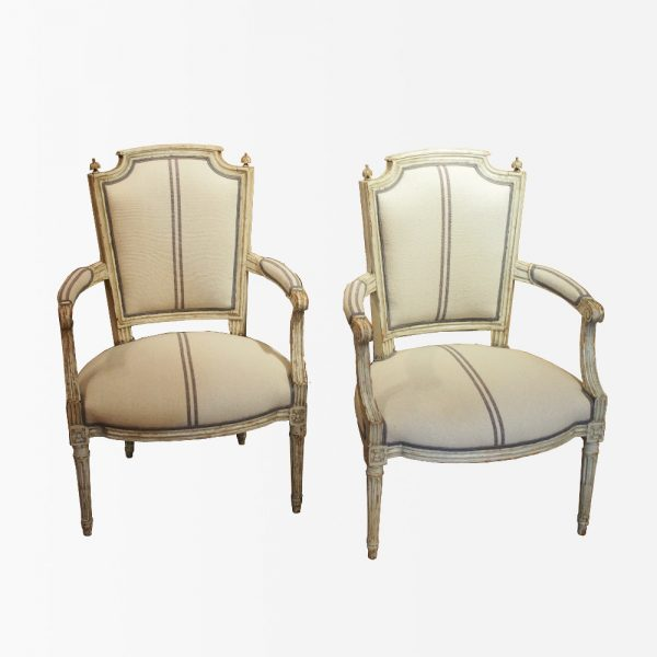 paire-fauteuils-bois-laque