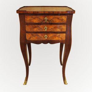 Table à toutes face d'époque Louis XV