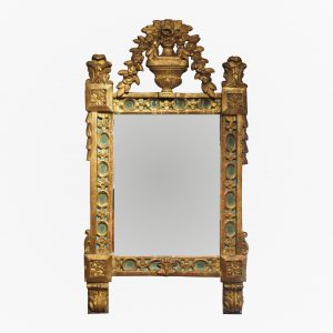 miroir-louis-xvi-vert