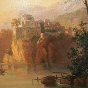 tableau paysage bergers (1)