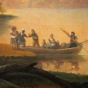 tableau paysage bergers (2)