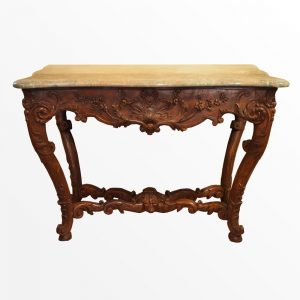 table-gibier-chene-epoque-18eme