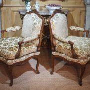 paire fauteuils regence (5)