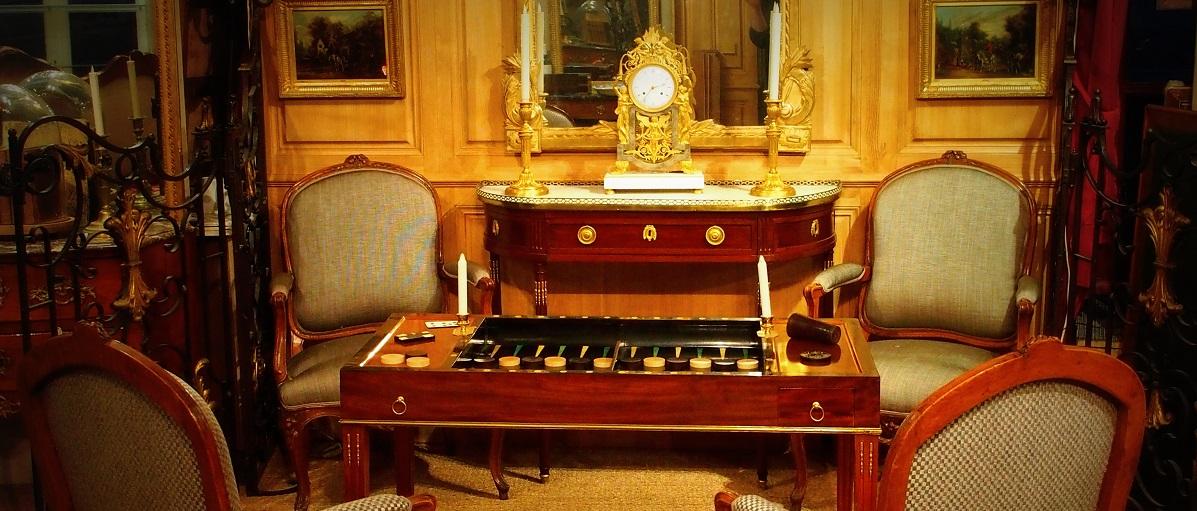 Achat et vente d'antiquités