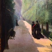 Huile sur toile d'époque XIX eme
