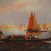 Tableau de Adolphe Bachman – Vue de Venise