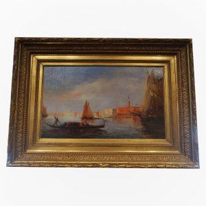 Tableau de Adolphe Bachman - Vue de Venise