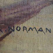 Tableau signé A.Normand