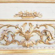 Élégant et grand trumeau, fin d'époque Louis XVI