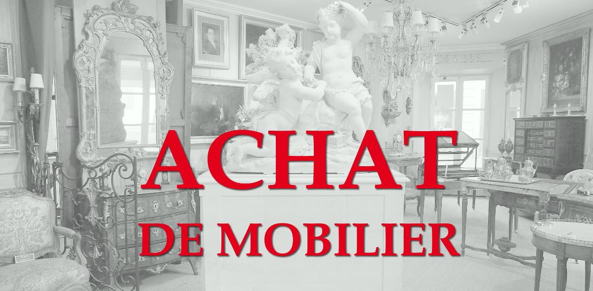 Achat de mobilier à Versailles