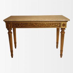 Console italienne d'époque Louis XVI