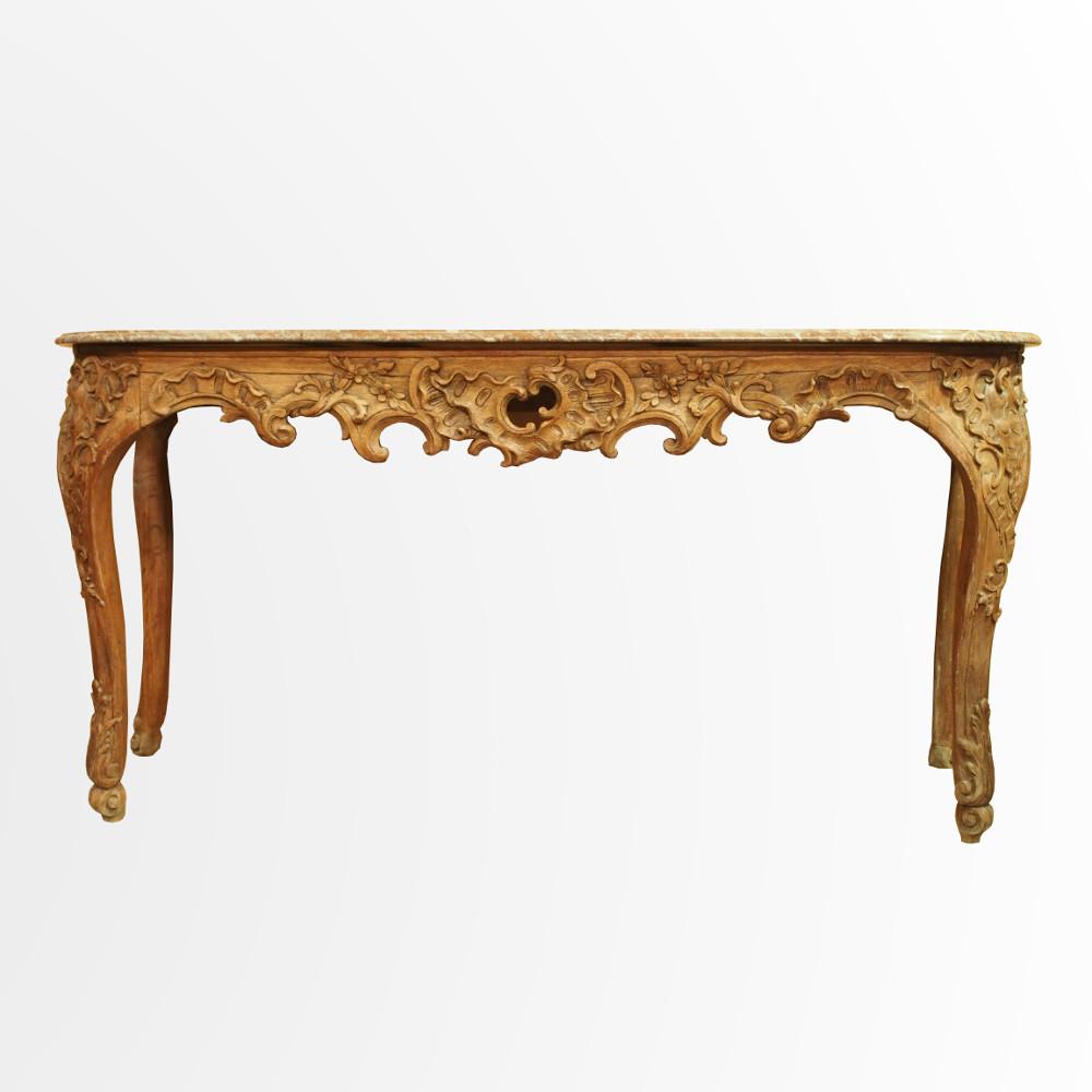 longue table gibier en bois naturel d poque r gence. Black Bedroom Furniture Sets. Home Design Ideas