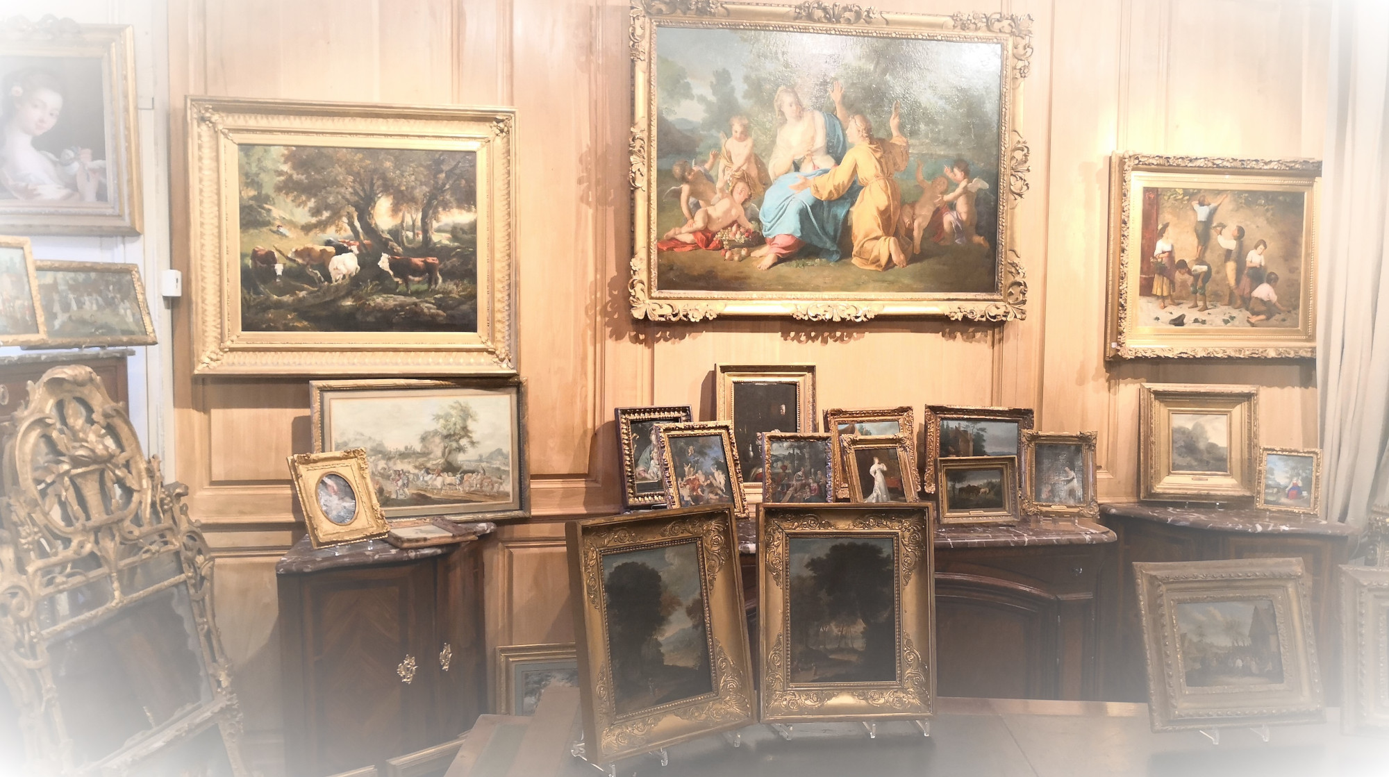 achat et vente de tableaux anciens