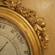 Baromètre - thermomètre d'époque Louis XVI