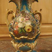 Paire de vases en porcelaine de Paris