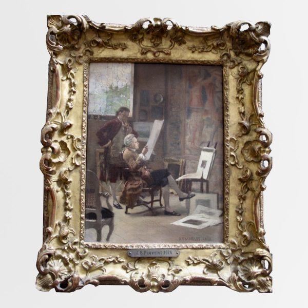 Peinture Jean Baptiste FAUVELET