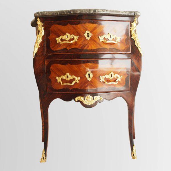 Petite commode d'entre deux d'époque Louis XV