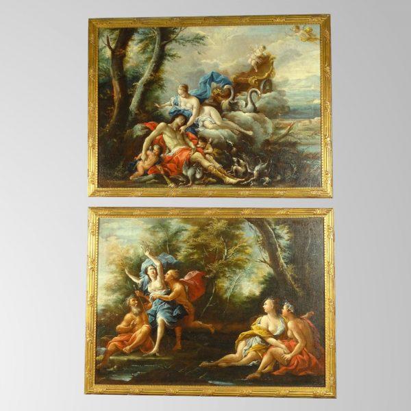 La métamorphose de Daphné et Le sommeil d'Endymion, Vers 1700